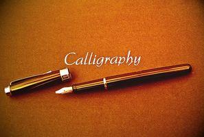Software de edición de caligrafía