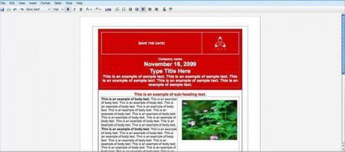 Como crear un Flyer del evento con Google Docs