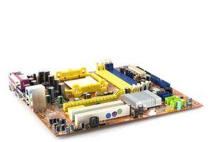 Instrucciones para reemplazar una placa base Dell 4600