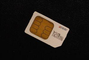 Cómo utilizar una tarjeta SIM de un teléfono en una tarjeta de datos