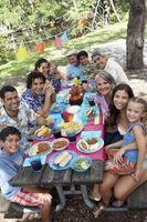 Cómo decorar un sitio web para una reunión familiar