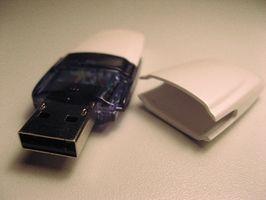 Cómo formatear USB Flash Drives para ver todo el espacio