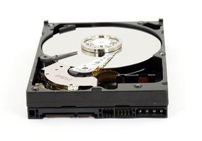 ¿Cómo instalo un Western Digital SATA disco duro interno?