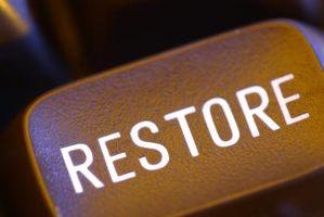 Cómo restaurar un programa de escritorio de Windows XP