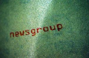 Cómo quitar los mensajes de grupos de noticias Usenet
