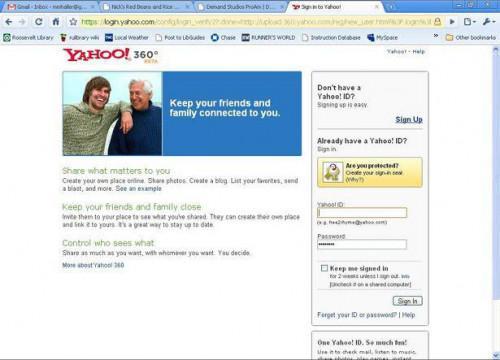 Cómo crear un Blog de Yahoo