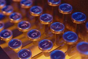 La diferencia entre una máquina de escribir y un teclado de computadora