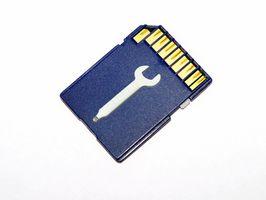 Cómo encontrar una extensión de archivo para una tarjeta MicroSD que tiene imágenes almacenadas en él