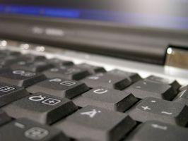 Cómo copiar y pegar con un ordenador portátil