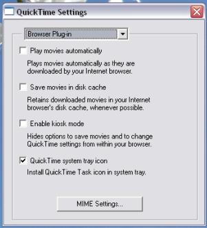 Cómo quitar QuickTime desde el inicio