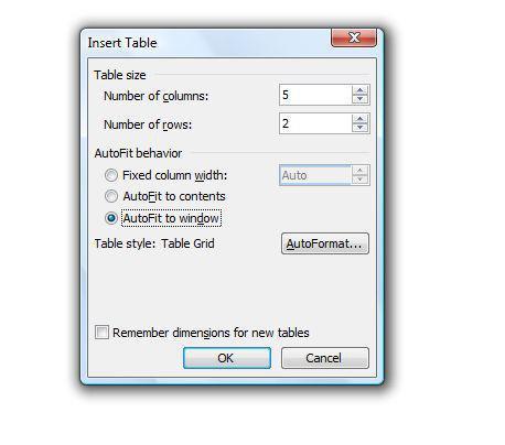 Tutorial de tablas de Microsoft Word