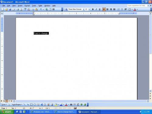 Cómo cambiar el estilo de fuente y tamaño de fuente en Microsoft Word