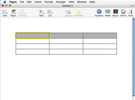 Cómo construir una base de datos de páginas de Mac