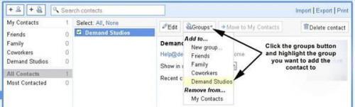 Cómo hacer una lista de correo en Gmail