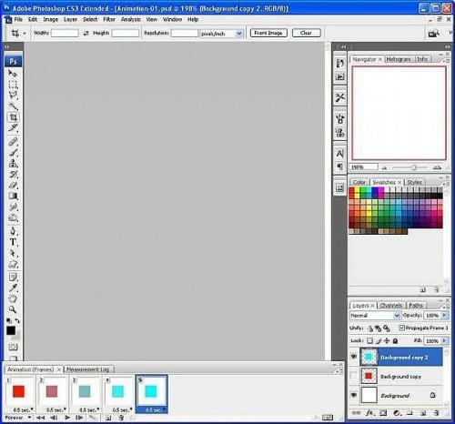 Cómo crear animaciones GIF en Photoshop CS3
