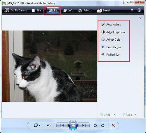 Cómo editar fotos con Vista o XP