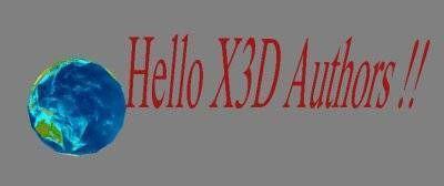 Cómo construir X3D Web gráficos con animación