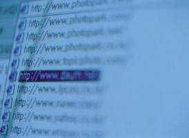Cómo borrar una barra de direcciones de Internet