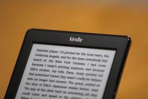 Cómo buscar una palabra al leer en un Kindle