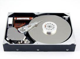 Comparación de un disco duro externo y un disco duro interno