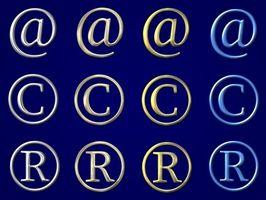 Cómo escribir un símbolo de marca registrada en Windows XP