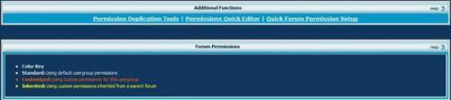Cómo establecer permisos de foro en vBulletin