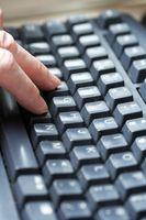 Cómo cambiar la teclas de entrada de Auto en Open Office