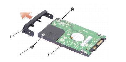 Cómo reemplazar el disco duro del ordenador portátil de Dell