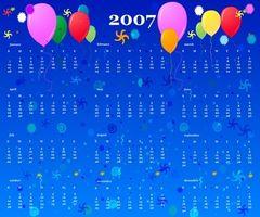 Cómo crear páginas de calendario especial