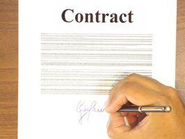 Beneficios y riesgos del Software de administrador de contrato