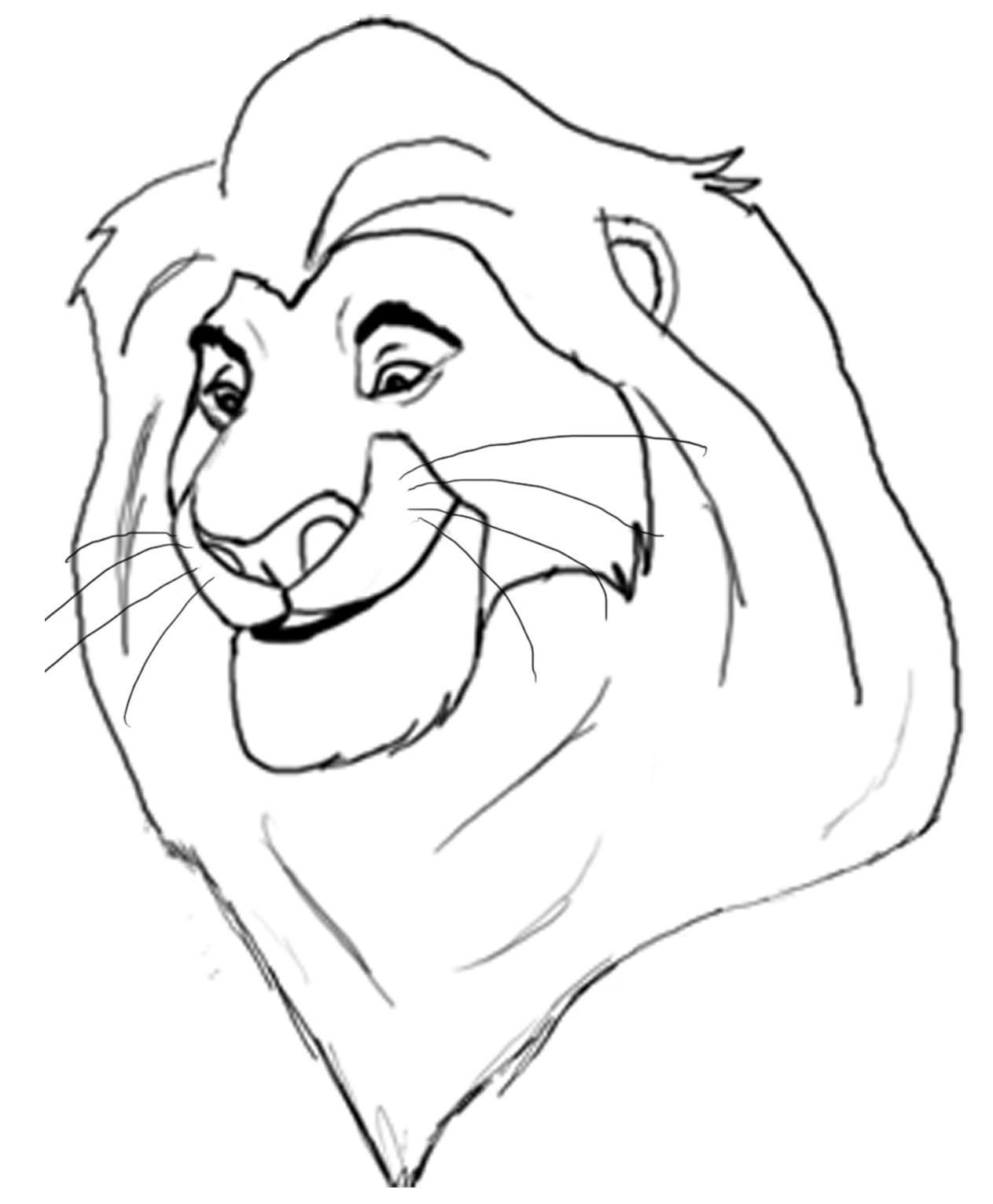 Cómo dibujar personajes del Rey León con Photoshop - Ubiquitour.com