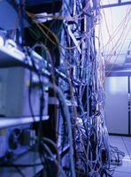 Administración de cables para computadora estación de trabajo Ideas
