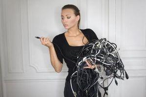 Cómo utilizar el Cable Cat5 para cableado de serie