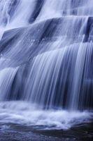 Cómo hacer un movimiento de cascada todavía en After Effects