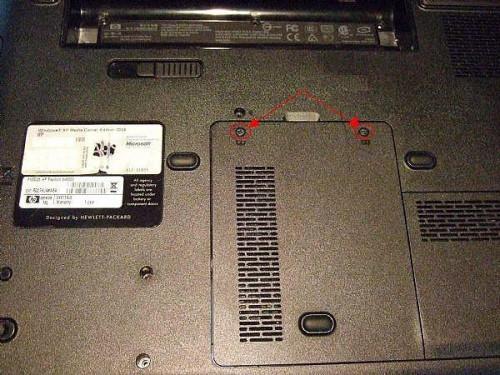 Cómo actualizar la memoria en un ordenador portátil de HP Pavilion DV6000