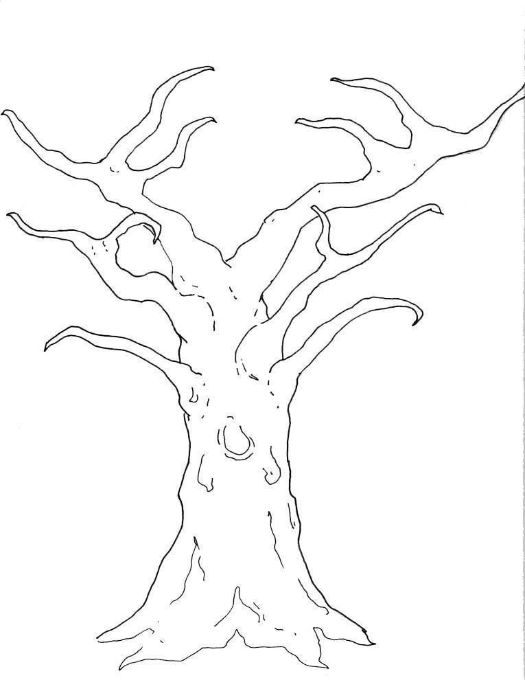 Cmo dibujar el rbol genealgico con ramas de rboles en