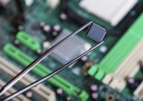 ¿Donde se ubica el Chip de ROM en un ordenador?
