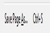 Cómo copiar páginas Web