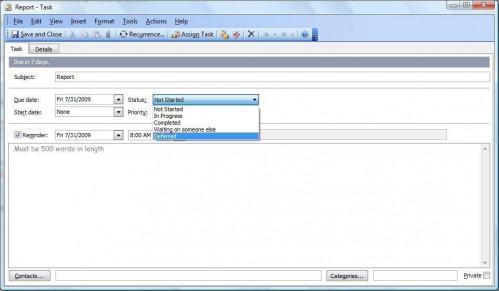 Tutorial de tareas de Microsoft Outlook