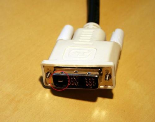 Descripción del Cable de DVI-D