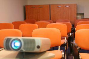 Cómo utilizar un enfoque en proyector con PowerPoint