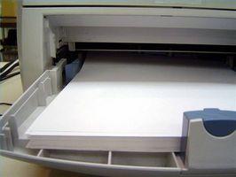 Limpieza de una impresora HP