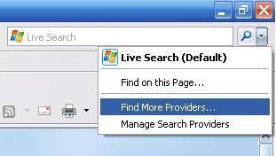 Cómo cambiar por defecto buscar de Internet Explorer configuración del motor