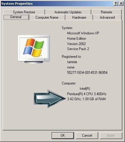 Cómo aumentar la memoria Virtual en Windows 2000 / Ubiquitour com