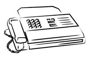 ¿Puede usted por Fax, sin una línea de tierra?