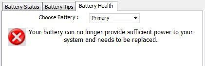 Problemas con la batería Dell Latitude