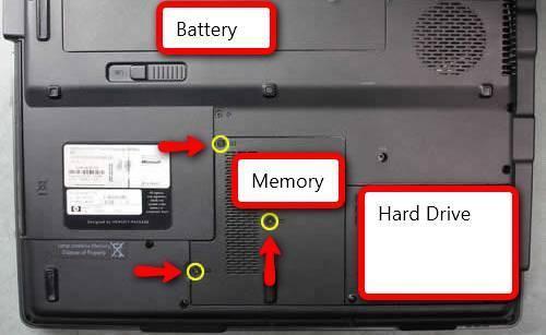 Cómo instalar memoria RAM en un portátil Presario