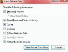 Como Borrar historial de búsqueda de Google 1