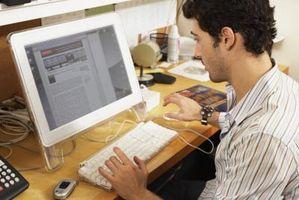 Cómo pegar un enlace a una página Web