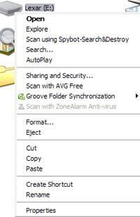 Cómo quitar protección contra escritura en una unidad USB de Fujifilm